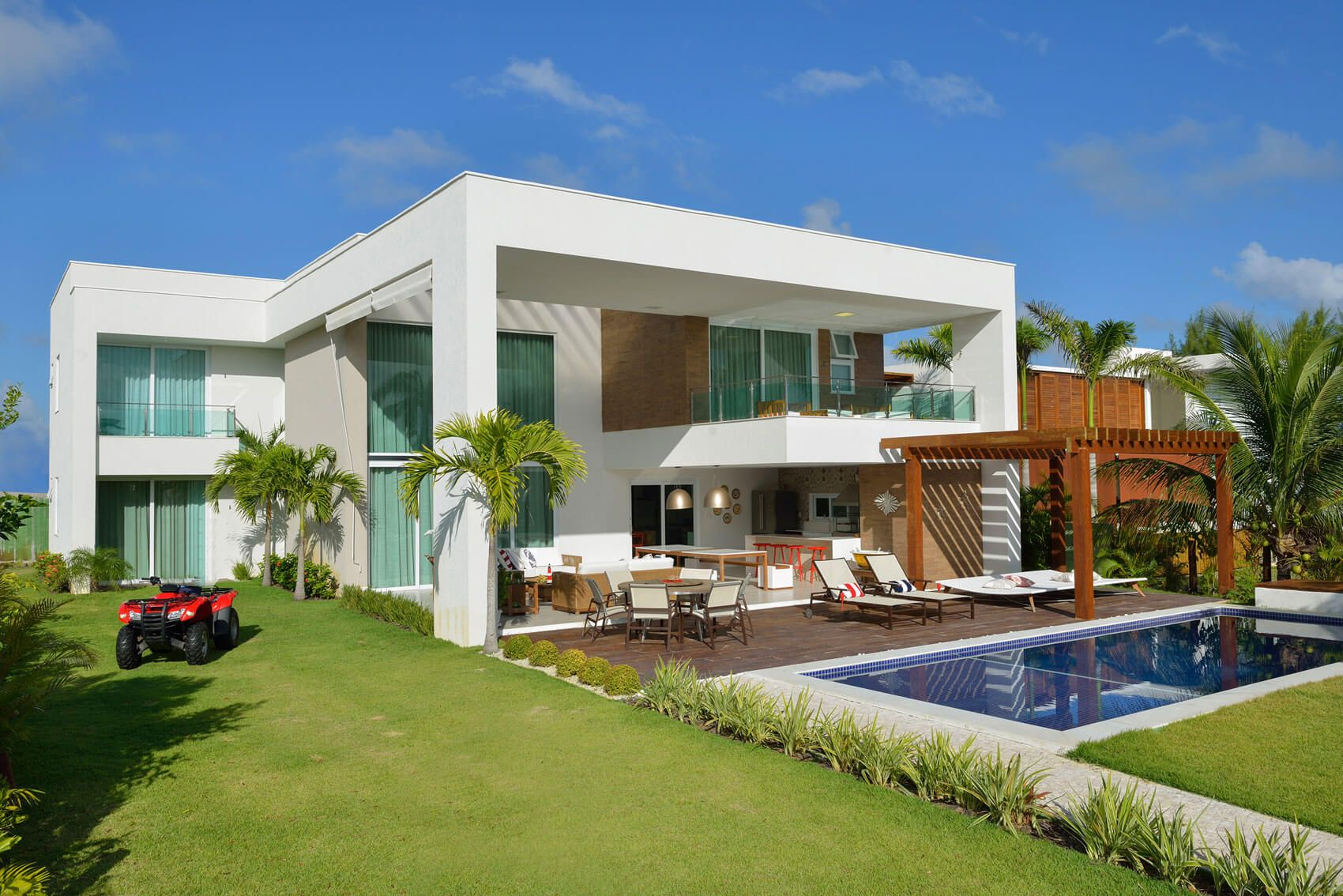 House in Bahia by Pinheiro Martinez Arquitetura | Fachadas ...