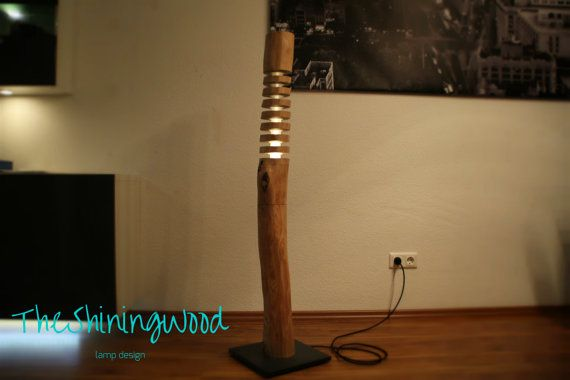 die besten 25 stehlampe aus holz ideen auf pinterest. Black Bedroom Furniture Sets. Home Design Ideas