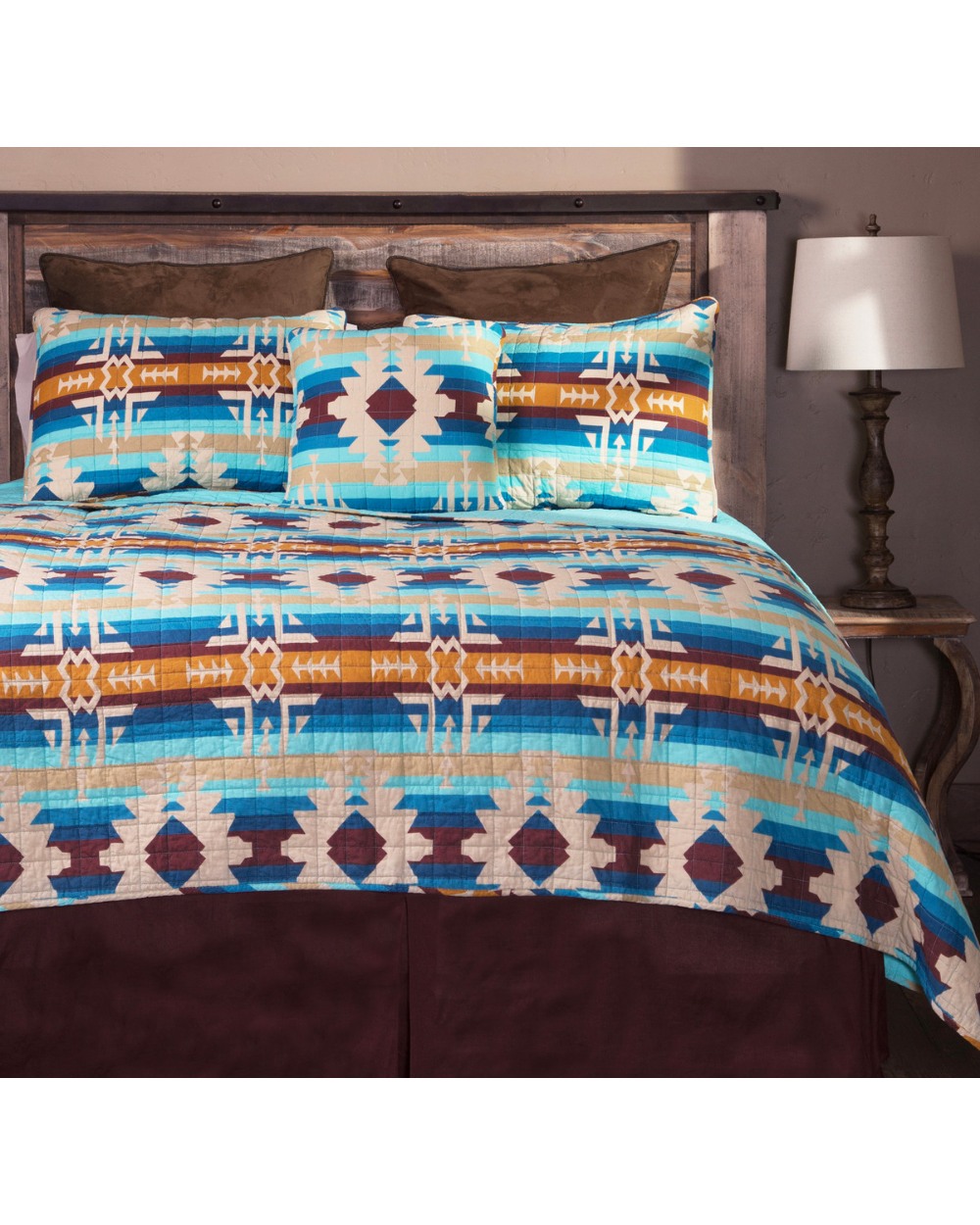 Carstens Southwest Harvest Queen Bedding 5 Piece Set