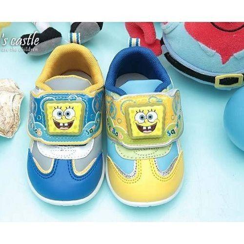quality design ba912 757c9 SpongeBob Square Pants Boys Baby LIGHT-UP Sneakers Shoes Blue SG8097
