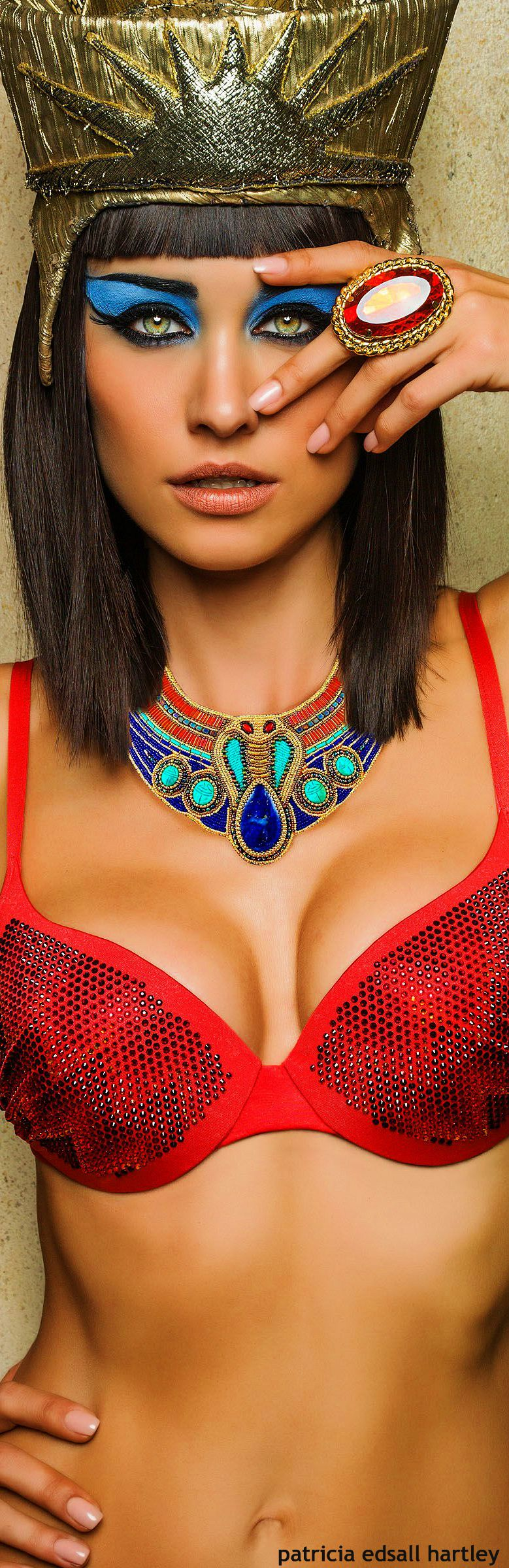 Egyptian Goddess Cleopatra Bikini - Egyptian Style - Egypt Inspired Fashion