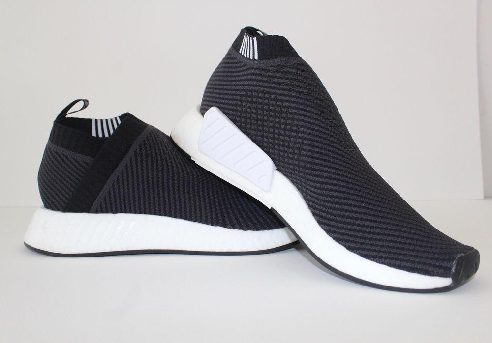 2128d0af8f3 adidas Originals NMD CS2 Primeknit Men s Black Carbon White D96744  fashion   clothing  shoes  accessories  mensshoes  athleticshoes (ebay link)