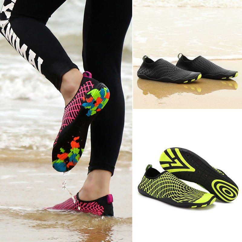8ac3aa291627 SAGUARO Aqua Shoes Skin Water Shoes Barefoot Slip On Surf Beach Swimming  Socks