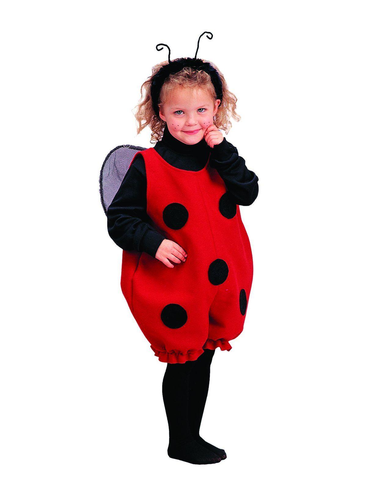 Carnival Baby Fancy Dress Costume Kids Girl Set Animal Ladybird Romper Outfit