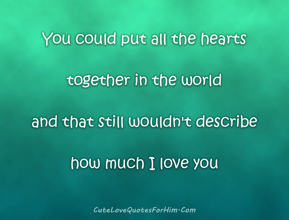 I love You Quotes 6