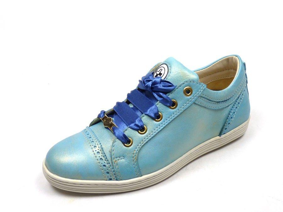 Metro sneaker 13053 - lichtblauw