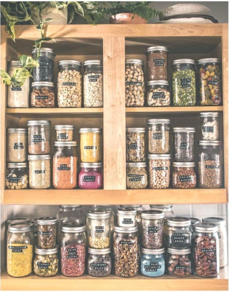 I Love This It Is Real Glass Jar Storage Is The Best Kchenorganisation Kitchen Kitchenorganizationjars Kche Jar Storage Glass Jars Glass Containers