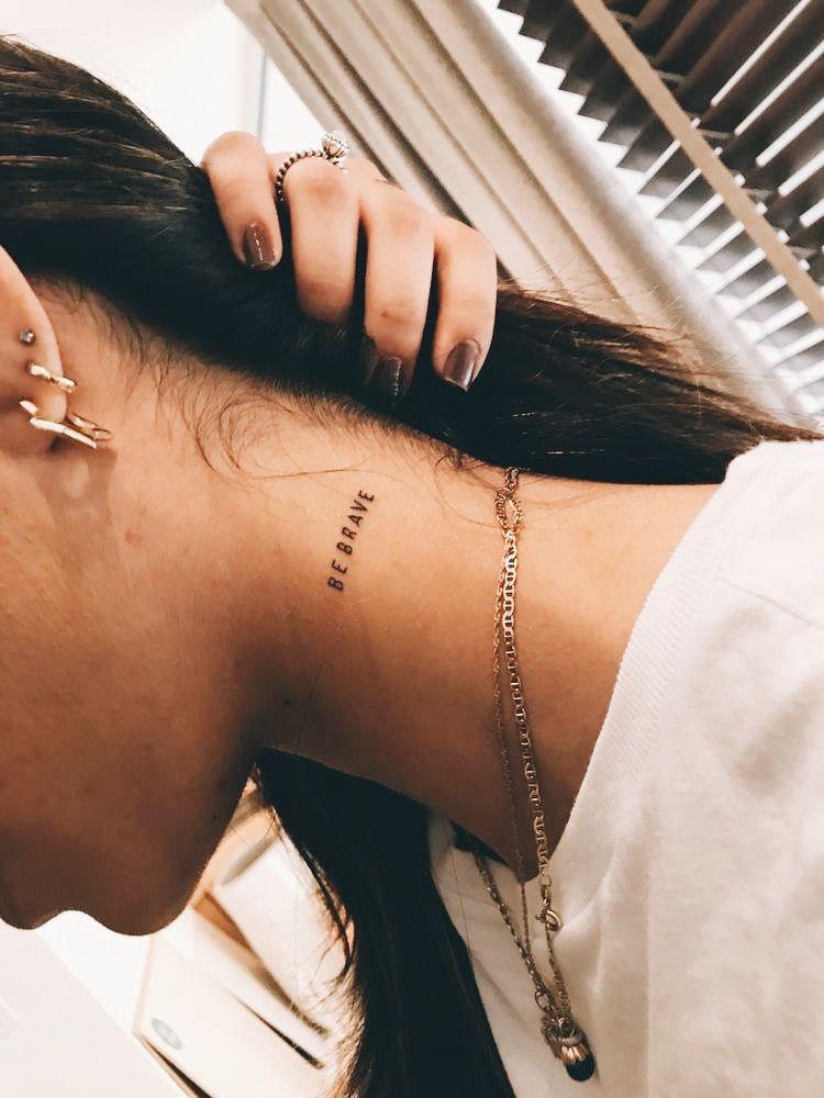 𝓟𝓲𝓷𝓽𝓮𝓻𝓮𝓼𝓽 𝓯𝔂𝓲𝓹𝓲𝓷𝓼𝓼 Neck Tattoos Women Small