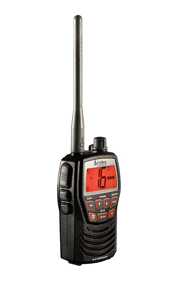 Cobra Mr Hh125 Waterproof Vhf Radio Bass Pro Shops The Best Hunting Fishing Camping Outdoor Gear Kayaks