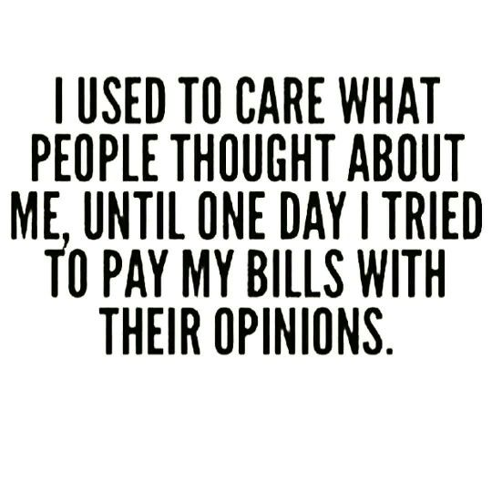 Dont Care What People Think Quotes Inspirationmotivation