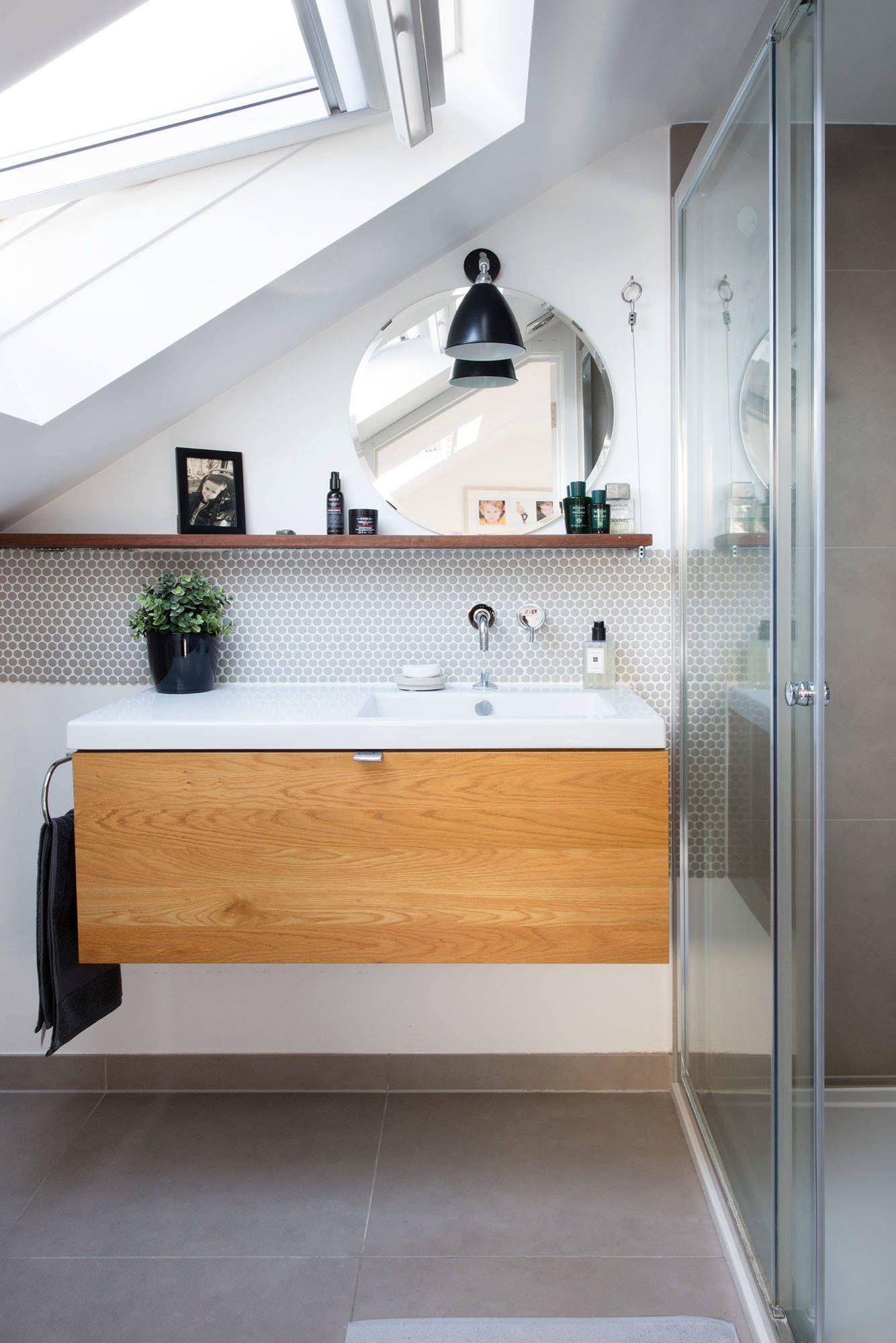 100 Schone Badezimmer Die Ihnen Helfen Den Spa Status Zu Erreichen Badezimmer Erreichen Helfen Ihnen Sc Badezimmer Schwimmendes Regal Schone Badezimmer