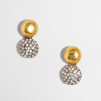 J.Crew Factory - Factory sparkle drop stud earrings
