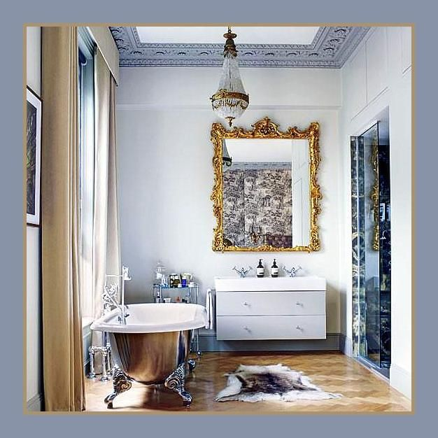 Zen Bathroomdesign Ideas: Blend Scale, Texture, Pattern & Unclinical Quirks To