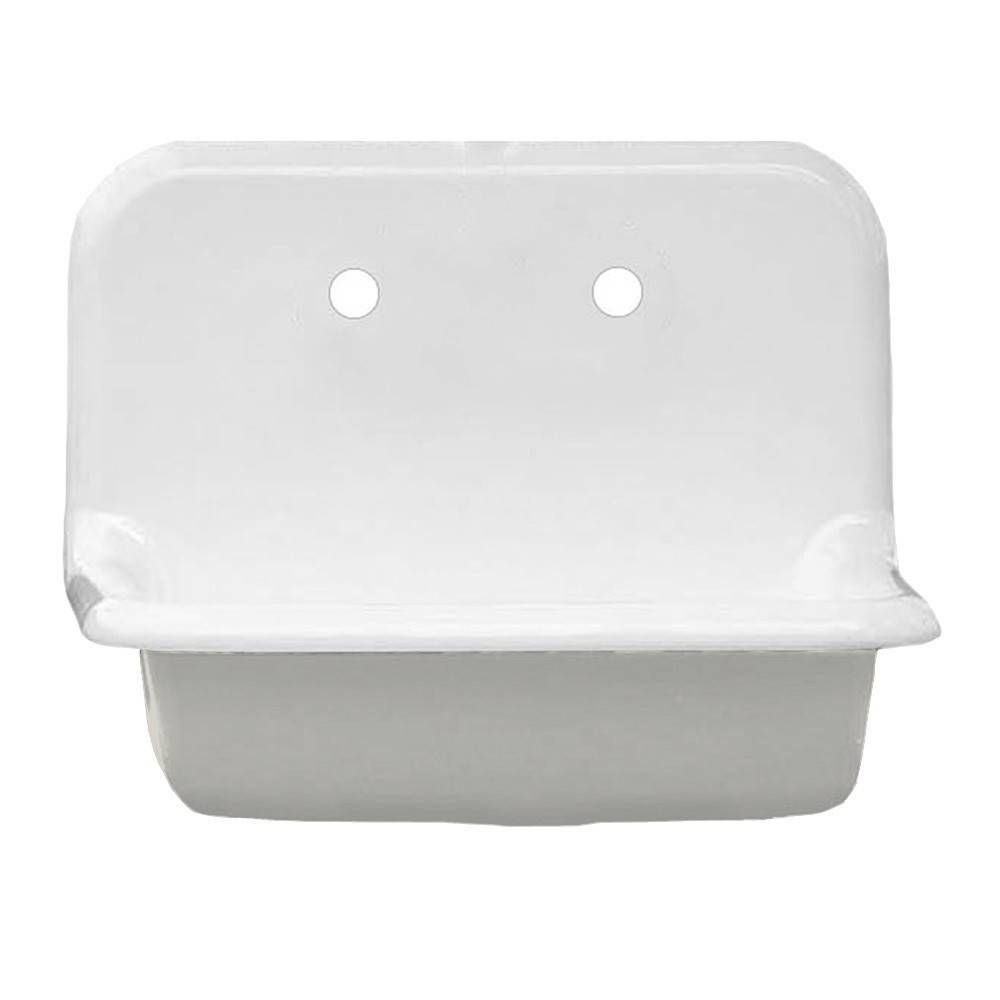 24 Inch Cast Iron High Back Farm Sink In 2020 With Images Farm Sink Sink Gray Clawfoot Tub