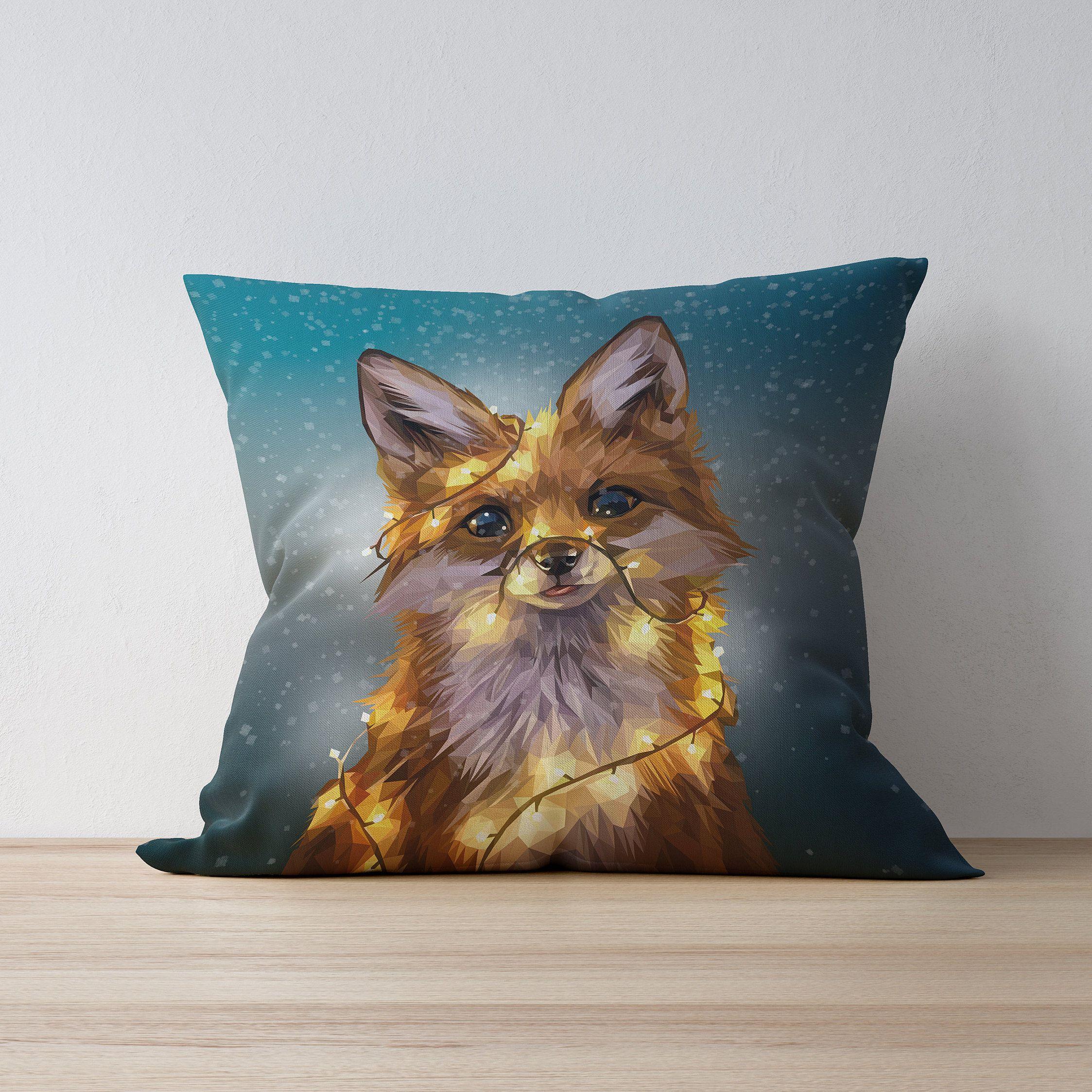 Weihnachts Fuchs Kissen Kissen Pillows In 2019 Fuchs Kissen