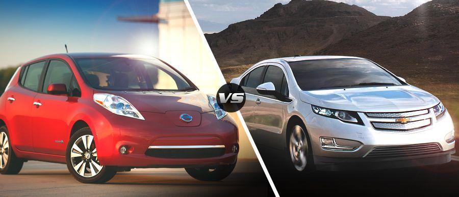 2015 Chevy Volt Vs 2015 Nissan Leaf Nissan Leaf 2015 Nissan