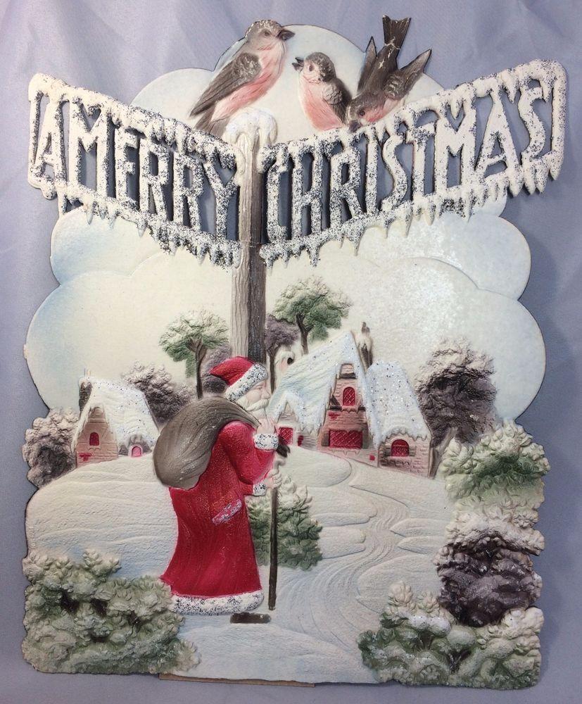 christmas Vintage german merry