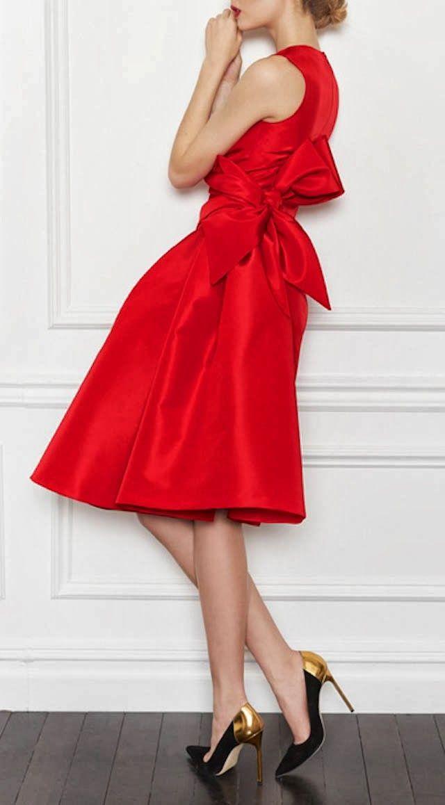RojoVestidos Moda Fiesta Vestido Rojo ValentinoStyle De Y eHW29DEIY