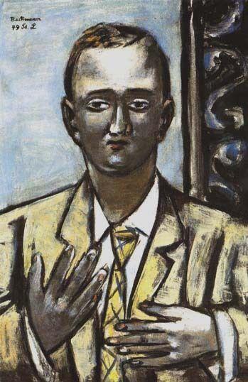 Max Beckmann, Portrait of Morton D May, 1949