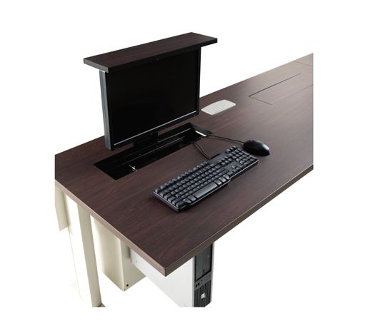 Smart Lift For Hidden Monitor Table