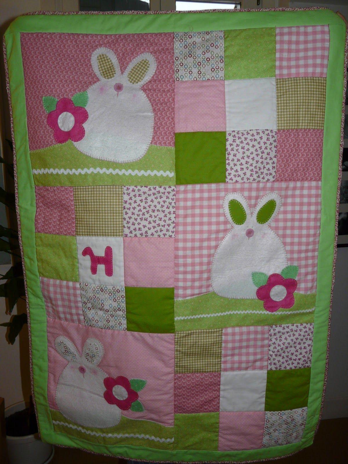 Esta cogi los patrones de la revista patchwork en casa - Colchas patchwork infantiles ...