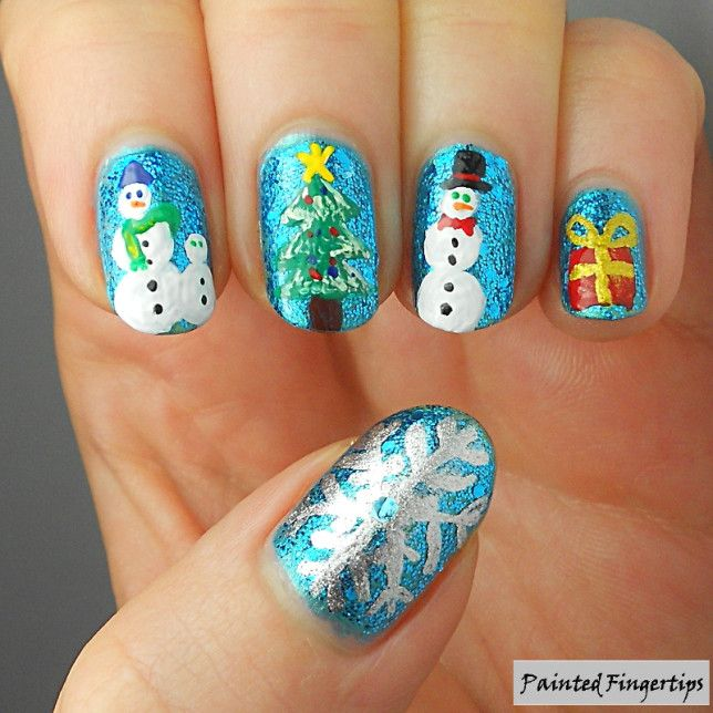 HPB Presents: Snowmen at Christmas AND 40 great nail art ideas for ...