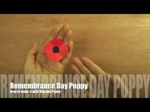 Make a Poppy - YouTube