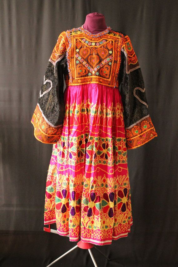 Excellente Brillante Robe Tribal D Afghanistan Traditional Outfits Clothes Dresses