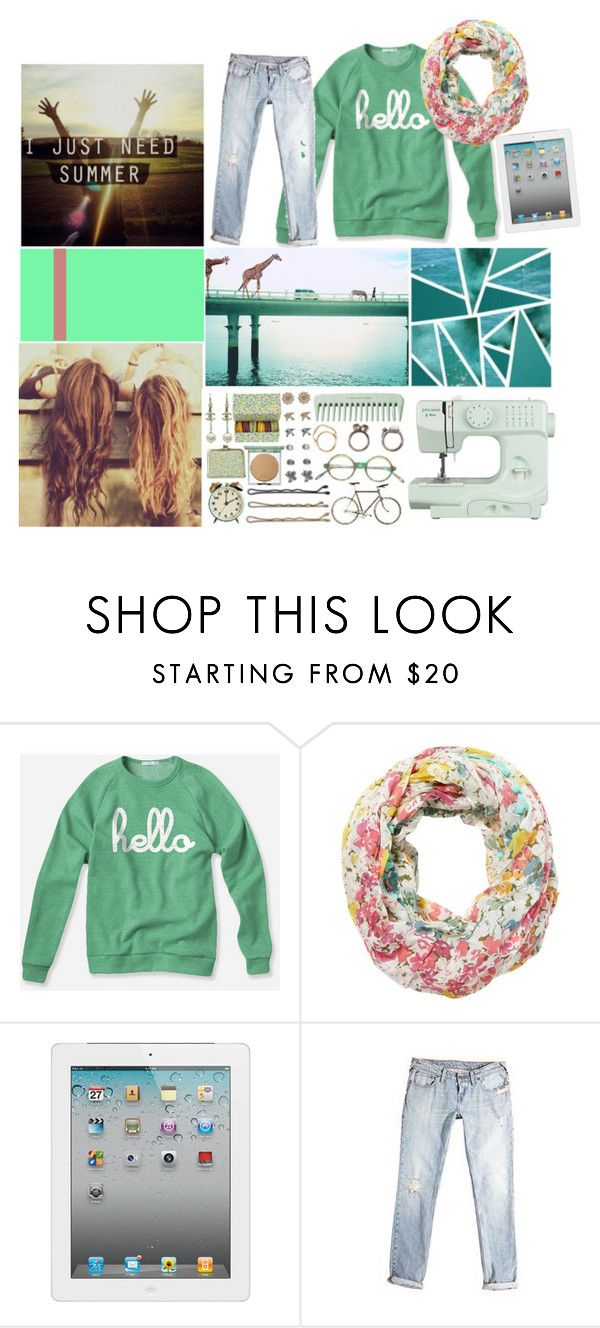 """i just need summer"" by emilylynn ❤ liked on Polyvore featuring Red Herring, Tela Beauty Organics, Jack Wills and John Lewis"