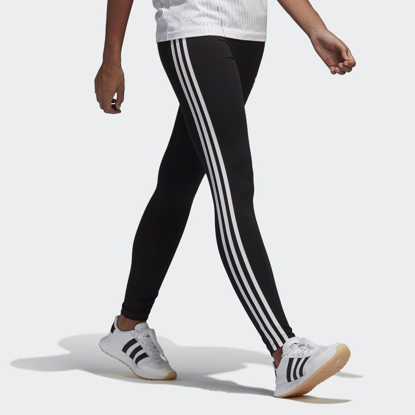 Estallar Ballena barba Anestésico  adidas 3 STR TIGHT - Black | adidas US | Striped leggings outfit, Striped  leggings, Adidas originals women