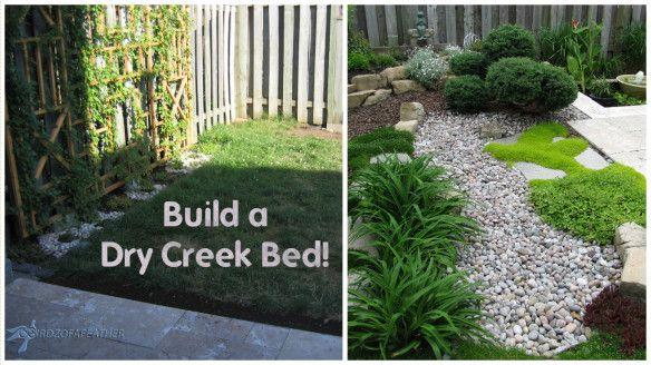 Low Maintenance Gardening (Part 1): Dry Creek Bed | Birdz of a Feather Home