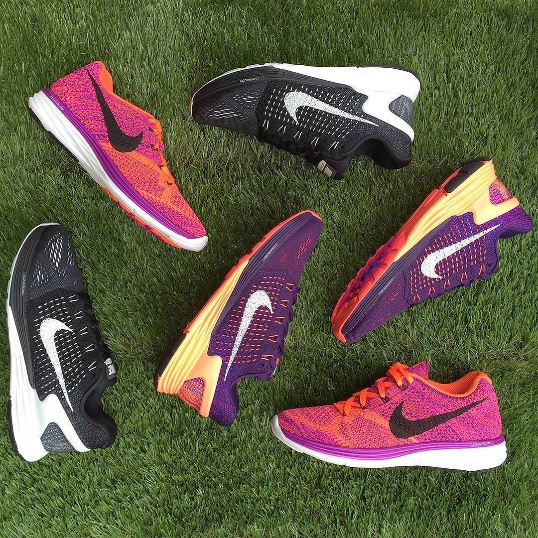 Make your next run your best run  Whether you love a walk skip or a jog the Nike LunarGlide 7 and the Nike Flyknit Lunar 3 will have you pounding the pavement with ease! Shop our range of running shoes at Stylerunner.com #stylerunner by stylerunner