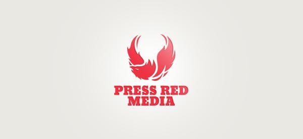 Press Red Media Logo
