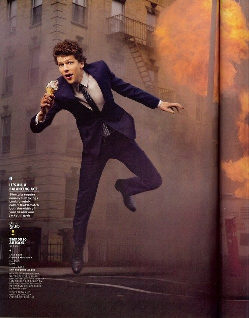 Awesome Portraits of Jesse Eisenberg by Martin Schoeller