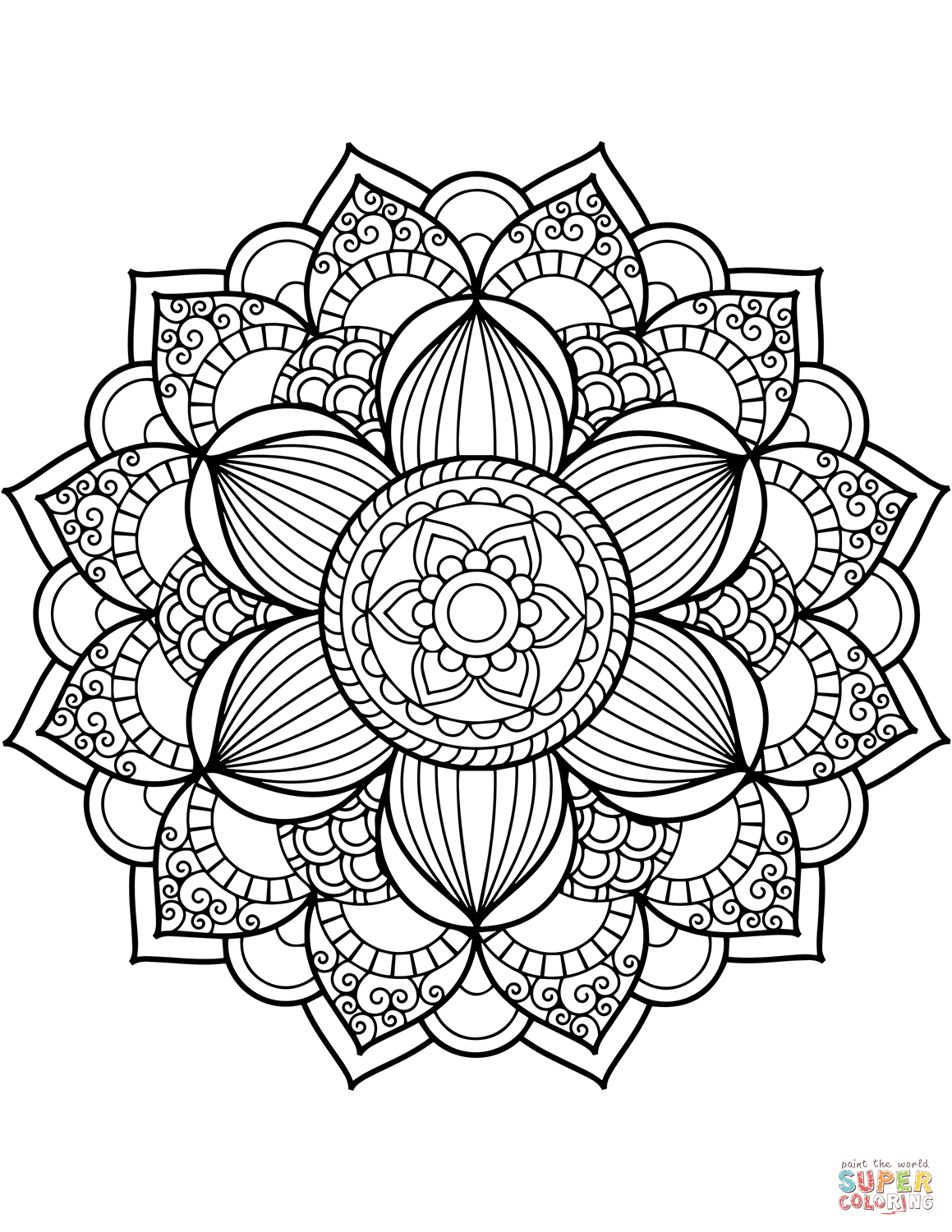 Image Result For Mandala Coloring Pages