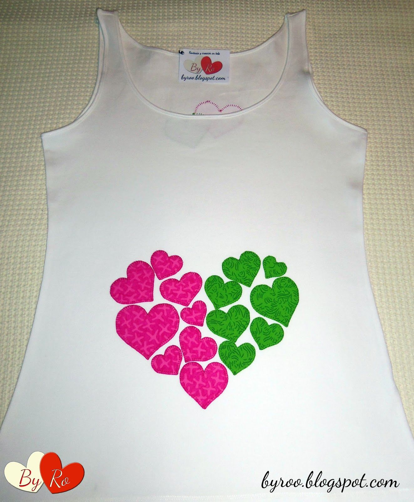 By Ro Camisetas Patchwork Varios Camisetas Appliqu  ~ Ideas Para Decorar Camisetas Infantiles