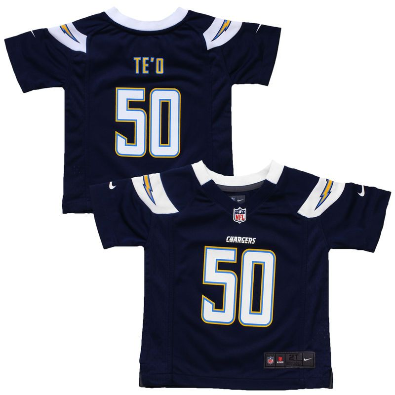 f33e28d5 Manti Te'o Los Angeles Chargers Nike Toddler Game Jersey - Navy Blue ...
