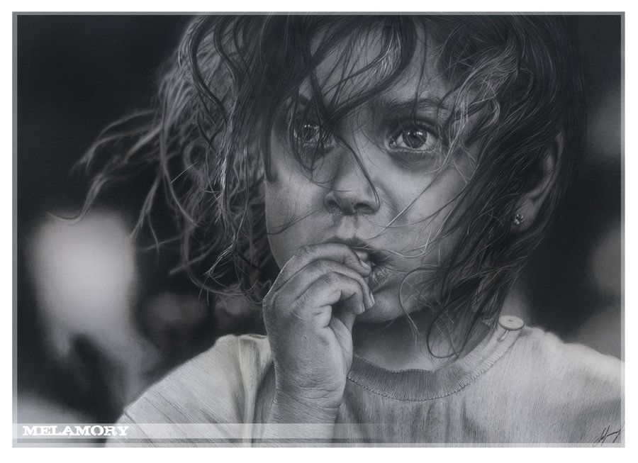Girl by russian artist olga melamory larionova ольга ларионова aka · realistic pencil drawingsamazing