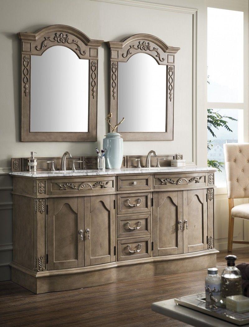 James Martin Amalfi Collection 72 Double Vanity Bathroom