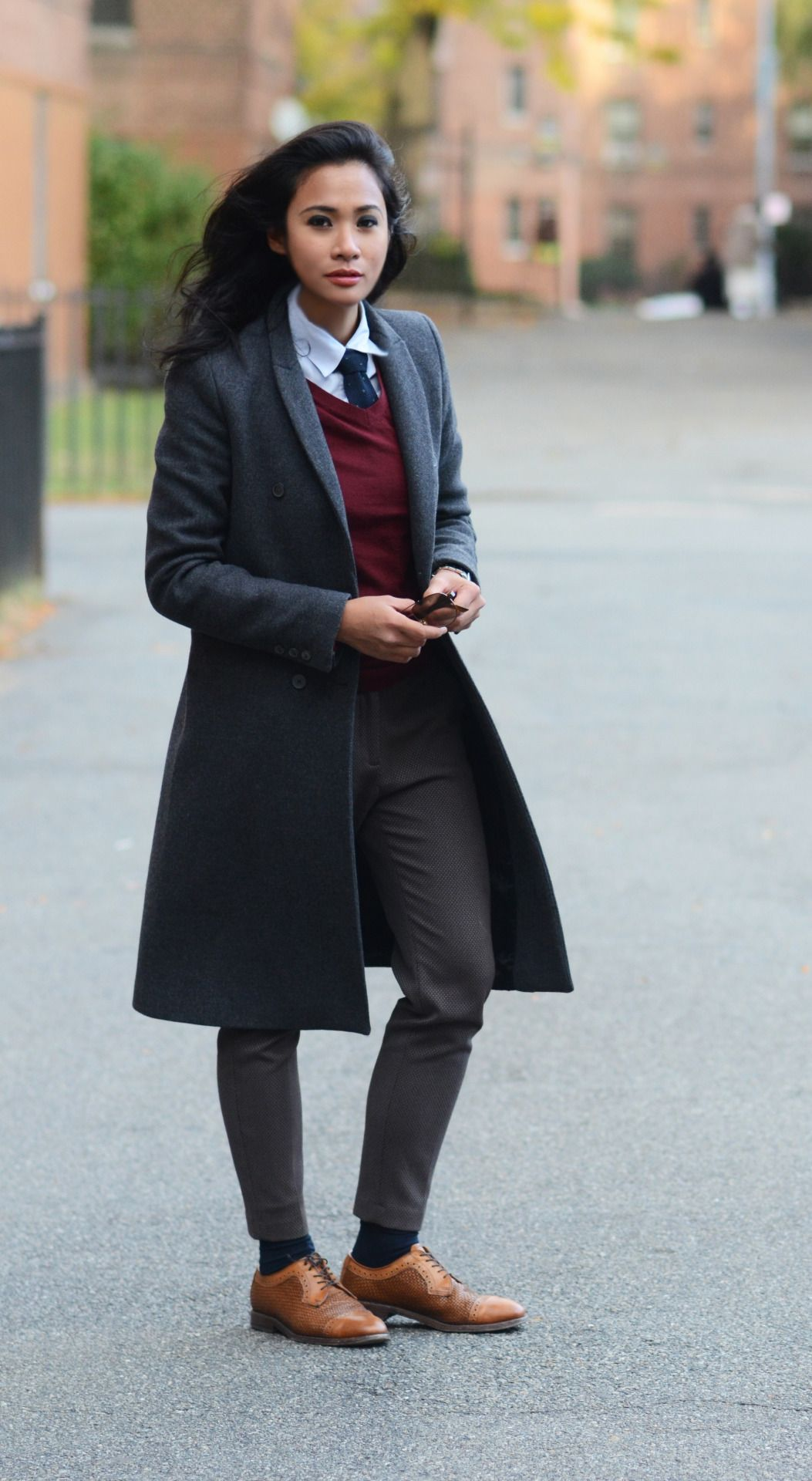 Style blog exclusively for tomboys., la-garconniere-: coat / H&M ...