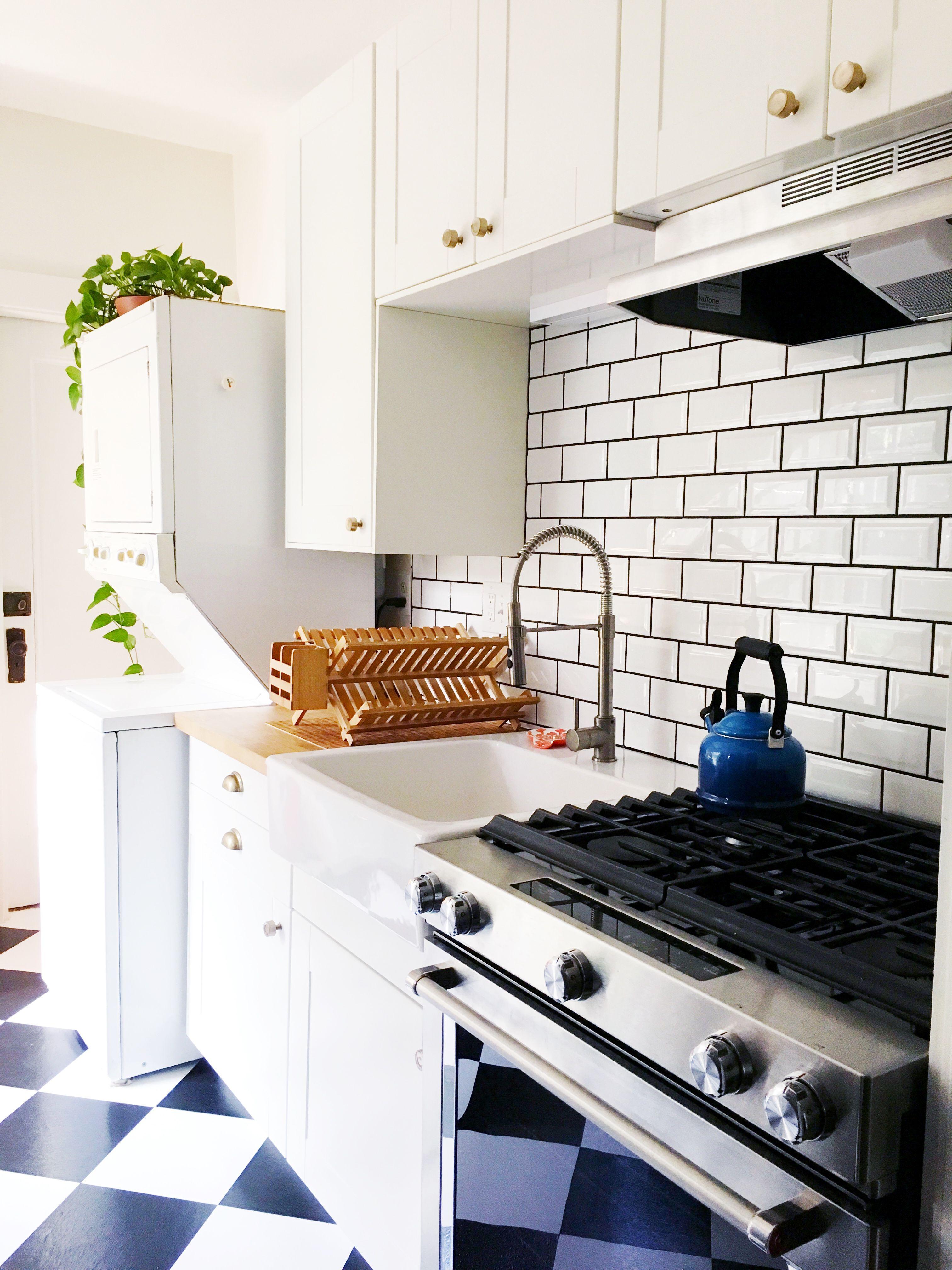 Basic kitchen cabinets   White Kitchens That Are Anything But Bland u Basic  Kitchen
