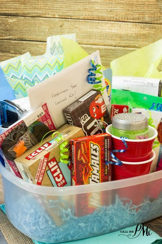 Freshman College Survival Kit Ideas Has All Those Unexpected Items