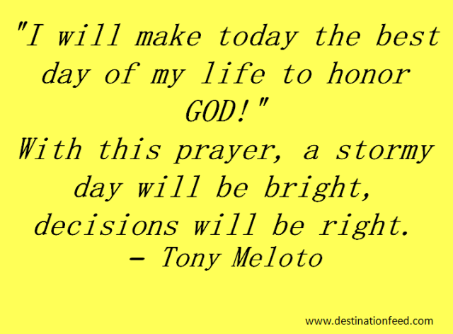 Quote For The Day I Will Make Today The Best Day Of My Life Destination Feed Inspirational Words Success Quotes Quotes