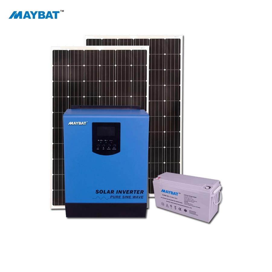 Maybat 12v 24v 48v 1kw 2kw 3kw 4kw 5kw Pure Sine Wave Solar Inverter Charger Built In Mppt 50a Controller Buy Mppt Pv Solar On Grid Inverter 5kw 4kw 3kw 2kw 1 In 2020