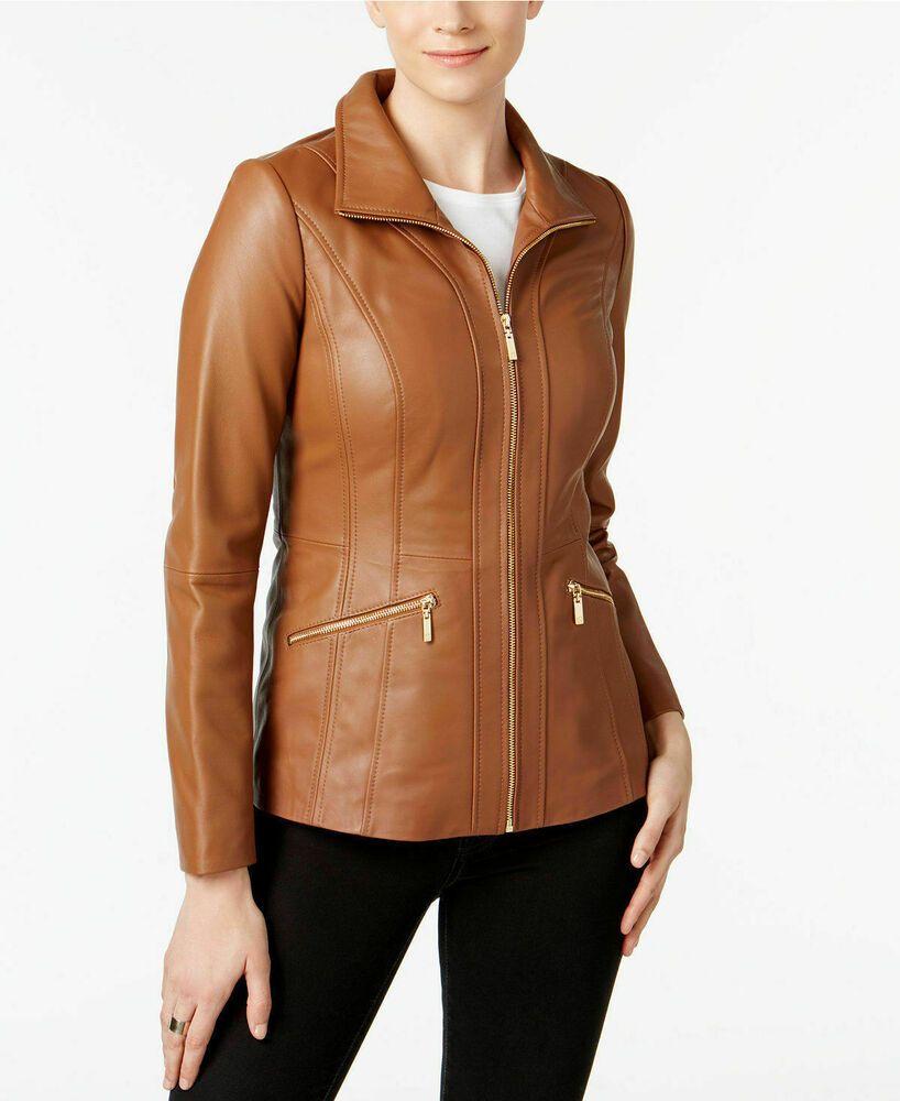 Genuine Leather Dress Handmade Lambskin Leather Jacket Plus Size Custom Made Handmade Biker Casual Jaket Kulit Jaket Kulit [ 1000 x 818 Pixel ]
