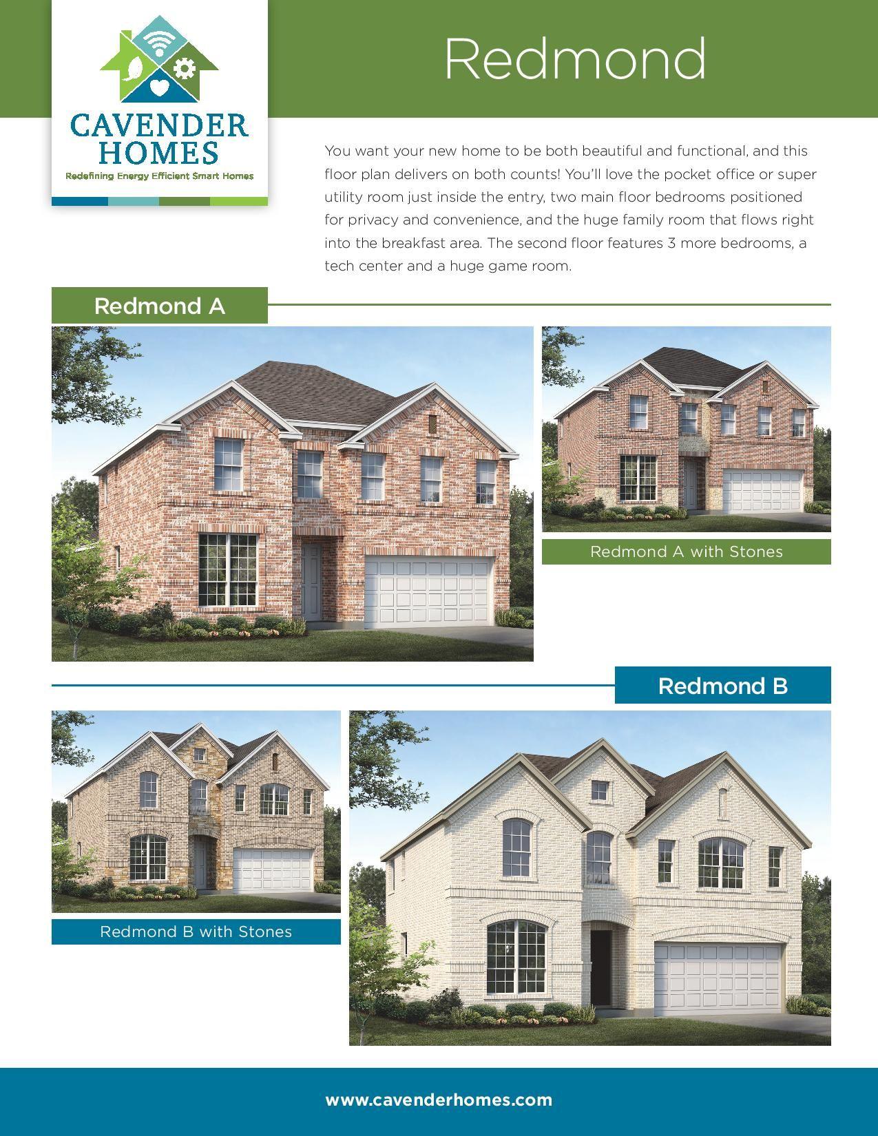 Redmond Floor Plan Floor Plans New Homes For Sale New Homes