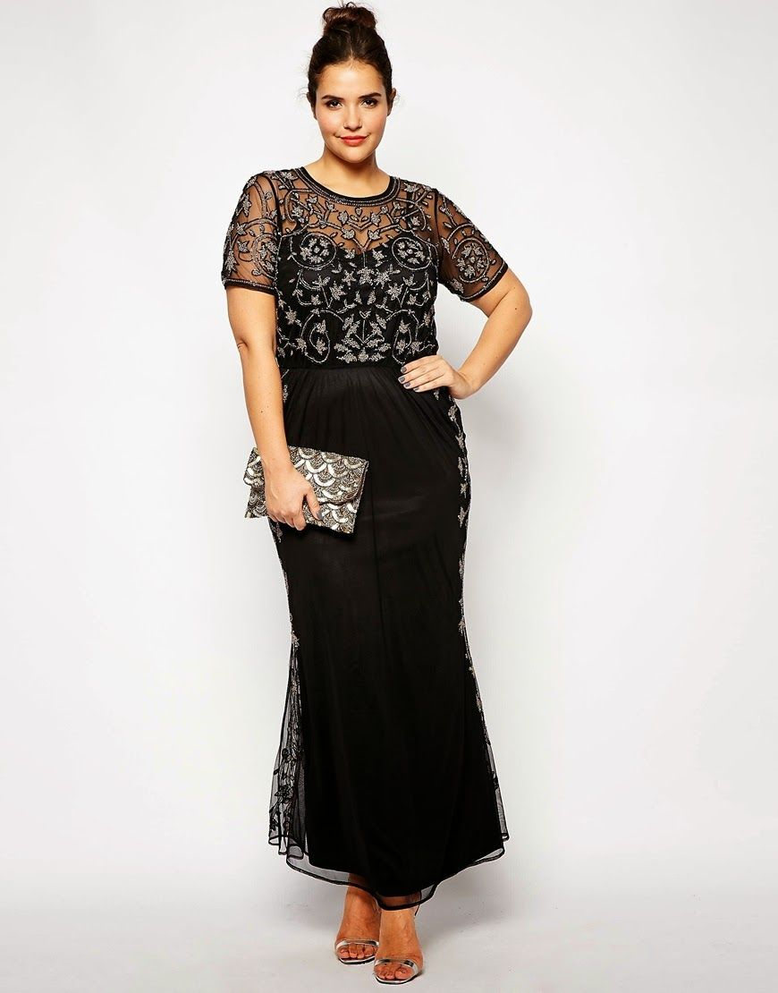 A Style Plus Size Formal Wear Finds Evening Dresses Plus Size Prom Dresses With Sleeves Plus Size Prom Dresses [ 1110 x 870 Pixel ]