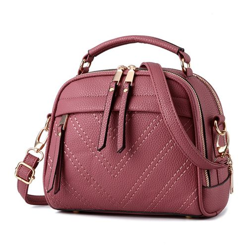 New Style Vintage Womens Handbags 4 Colors PU Leather Candy Shoulder Bags