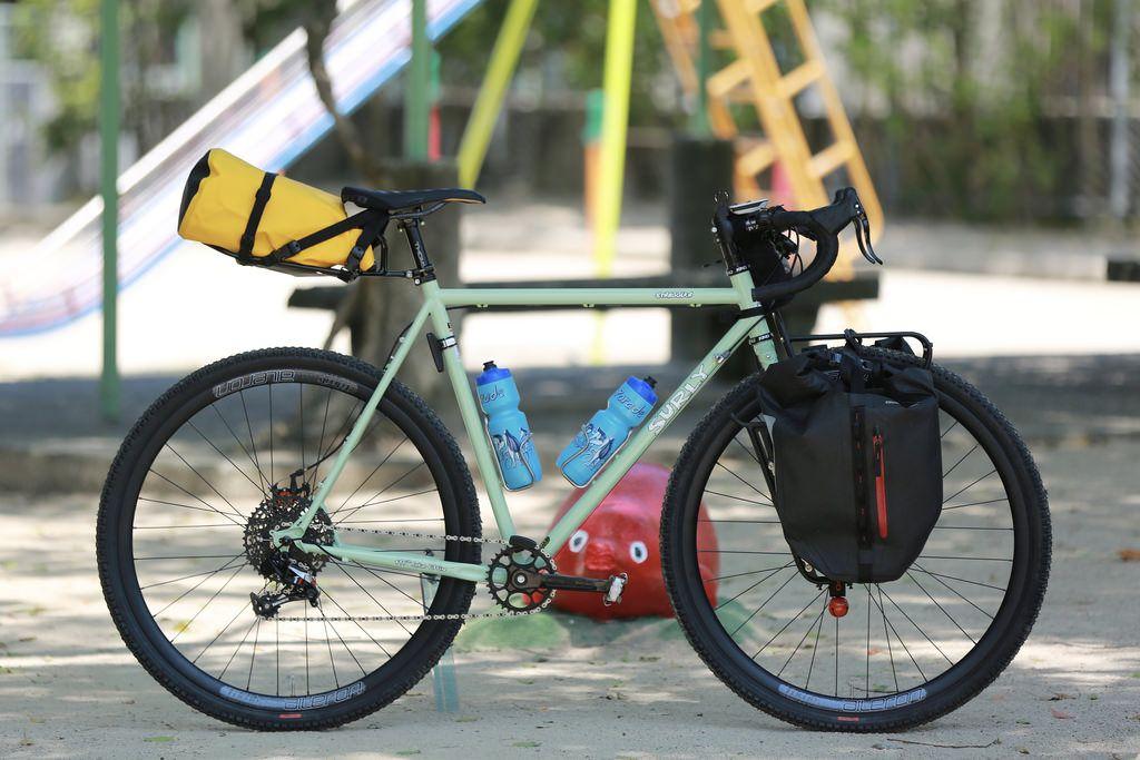 サーリーのストラグラー組んでみました 広島の自転車ショップ ファットバイク シングルスピード ロングテールバイク シクロクロス ハンドメイドフレームなど Grumpy グランピー シクロクロス 自転車 ファットバイク