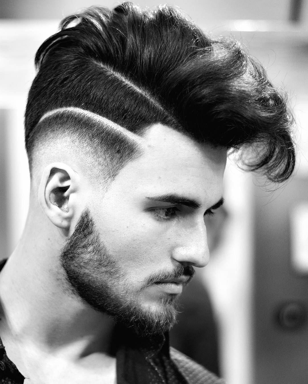 Men S Clic Side Swept Fringe Haircut